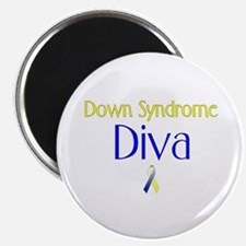 Down Syndrome Diva Magnet