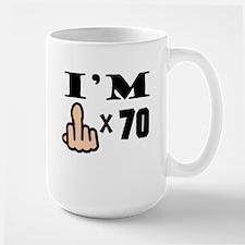 Im Middle Finger Times 70 Mugs