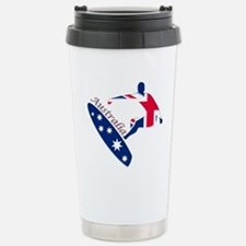 Australia boarding logo Stainless Steel Travel Mug