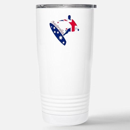 Australia boarding logo Stainless Steel Travel Mug
