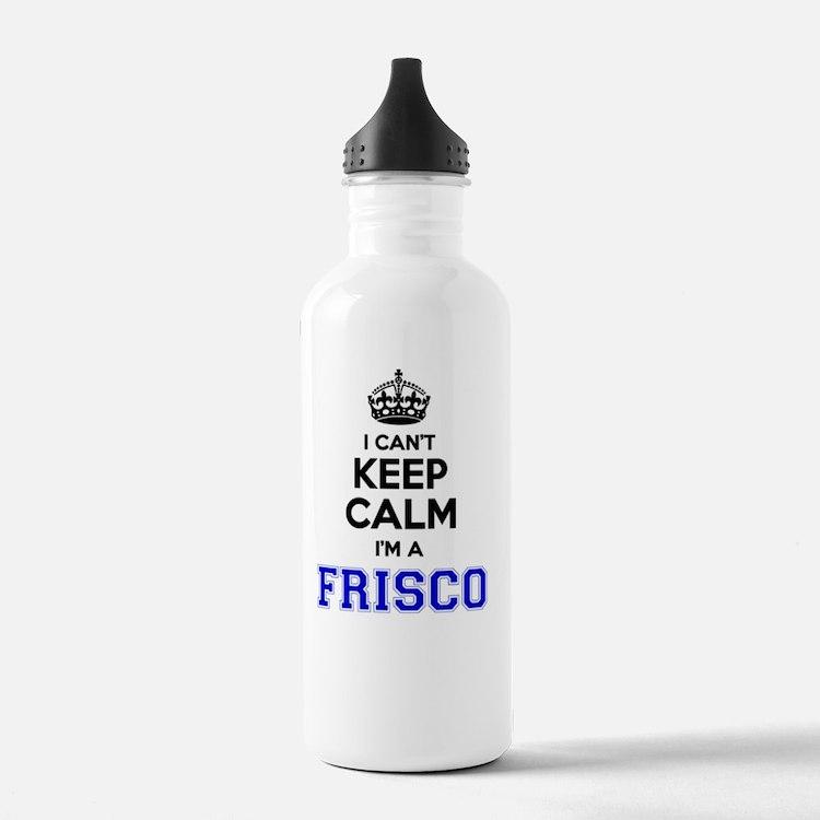 Cute Frisco Water Bottle