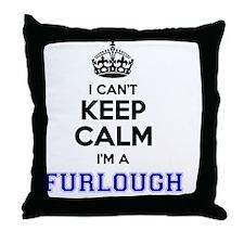 Cute Furloughs Throw Pillow