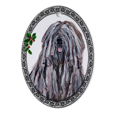 Bergamasco Oval Ornament
