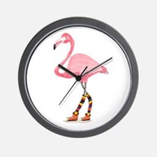 Styling Flamingo Wall Clock