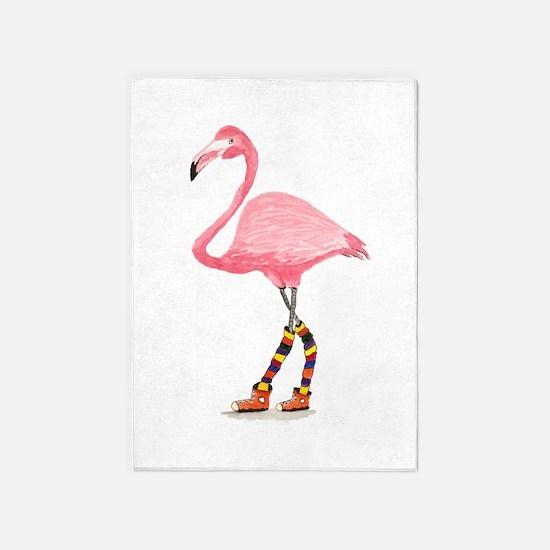 Styling Flamingo 5'x7'Area Rug