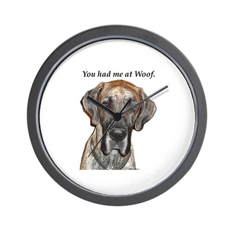 Great Dane Jamie You Had Me a Wall Clock