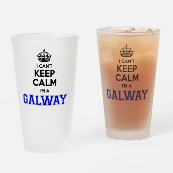 Unique Galway Drinking Glass