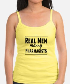 Real Men Marry Pharmacists Tank Top