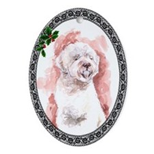 Lagotto Romagnolo Oval Ornament