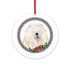 Komondor Ornament (Round)