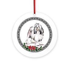Lowchen (Little Lion Dog) Ornament (Round)