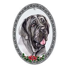 Neapolitan Mastiff Oval Ornament