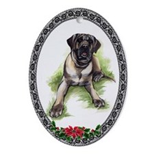 Tosa Inu Oval Ornament