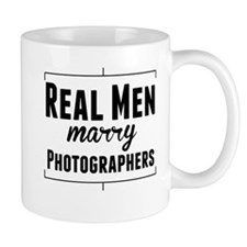 Real Men Marry Photographers Mugs