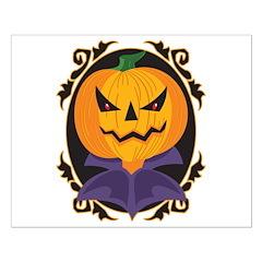 Sinister Halloween Pumpkin Posters