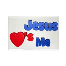 Jesus Loves Me (solo) Magnets