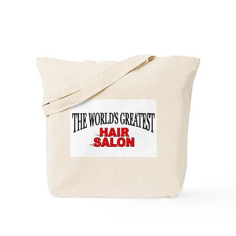 """The World's Greatest Hair Salon"" Tote Bag"