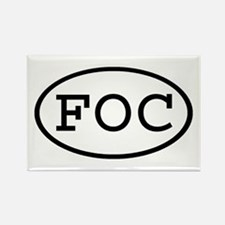FOC Oval Rectangle Magnet (100 pack)