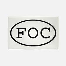 FOC Oval Rectangle Magnet