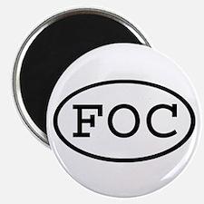 "FOC Oval 2.25"" Magnet (10 pack)"