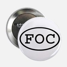 FOC Oval Button