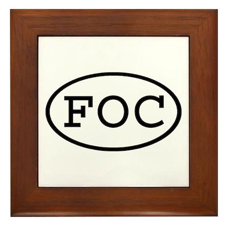 FOC Oval Framed Tile