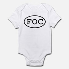 FOC Oval Infant Bodysuit