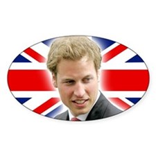 HRH Prince William Stunning! Decal