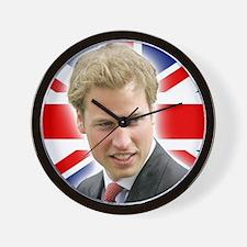 HRH Prince William Stunning! Wall Clock