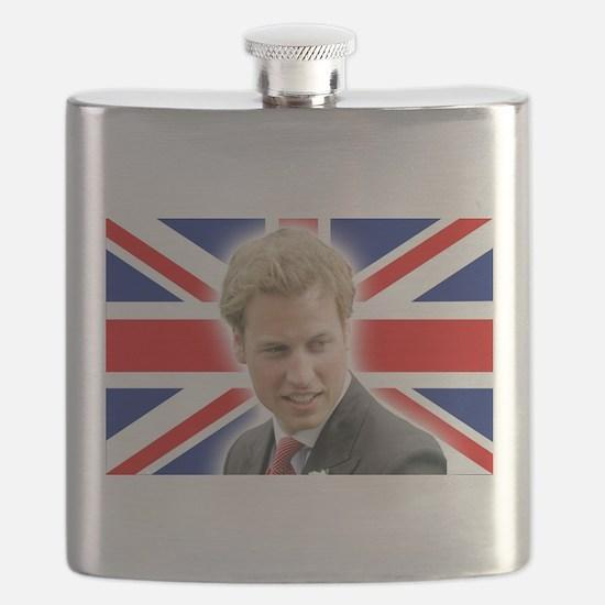 HRH Prince William Stunning! Flask