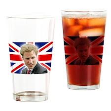 HRH Prince William Stunning! Drinking Glass