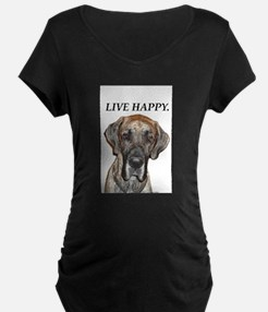 Great Dane Jamie Live Happy T-Shirt