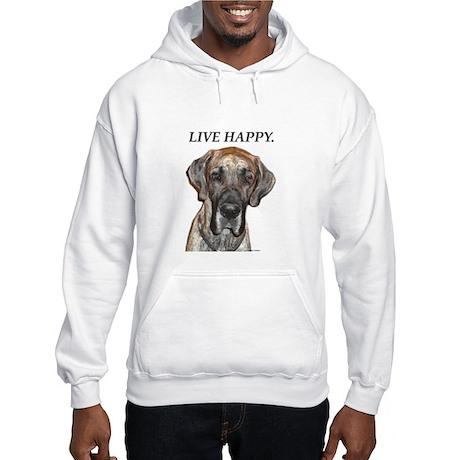 Great Dane Jamie Live Happy Hooded Sweatshirt