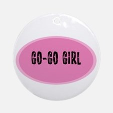 Go-Go Girl Ornament (Round)