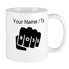 Boss Knuckle Tattoo (Custom) Mugs