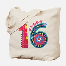 Blooming Sweet 16 Tote Bag
