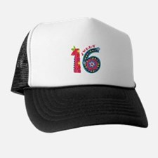 Blooming Sweet 16 Trucker Hat