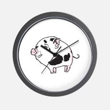 CUTE PIGLET Wall Clock