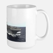 USS Kitty Hawk CV63 Large Mug US Navy Gift