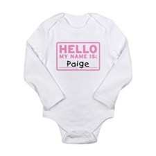 Cute Teddy Long Sleeve Infant Bodysuit