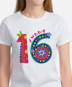 Blooming Sweet 16 Tee