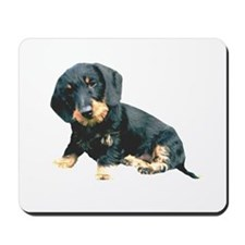 Black and Tan Wire Hair Mousepad