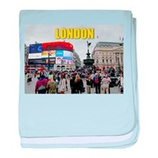 Piccadilly Circus Pro photo baby blanket