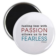 """Fearless Passion 2.25"""" Magnet (10 pack)"""