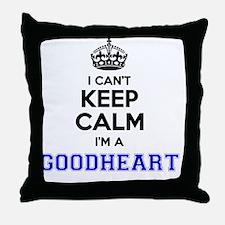 Cute Goodhearts Throw Pillow