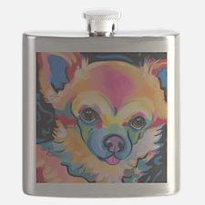 Cute Pom Flask