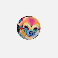 Funny Pop art pets Mini Button