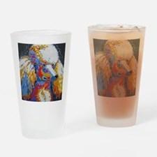 Funny Standard poodle Drinking Glass