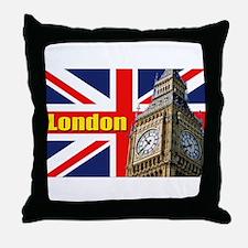 Magnificent! Big Ben London Throw Pillow