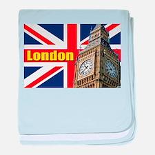 Magnificent! Big Ben London baby blanket